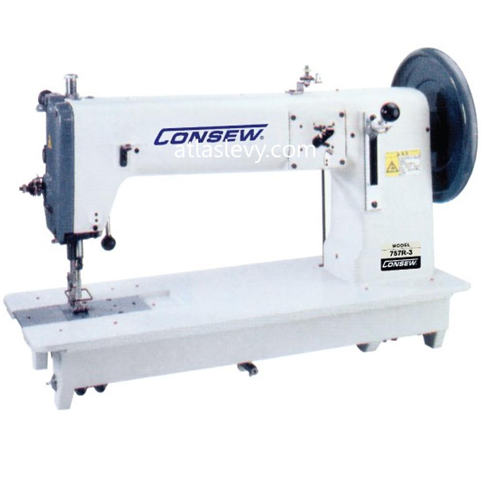 Consew 757r Heavy Duty Long Arm Sewing Machine